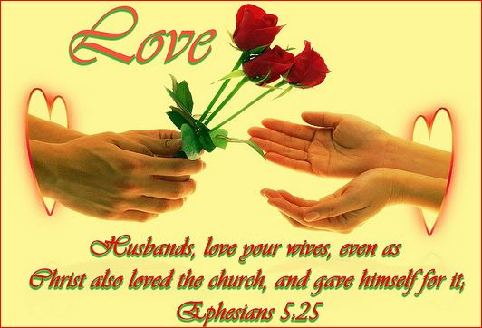 Bible verses about loving your wife