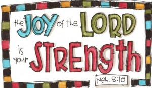 25 joy of the lord