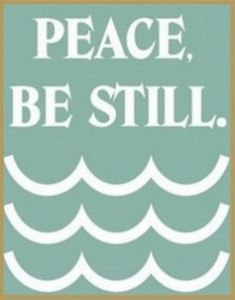 30 peace be still