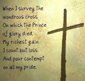 12 survey the cross