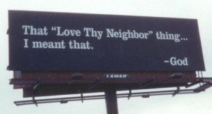 14 love thy neighbor